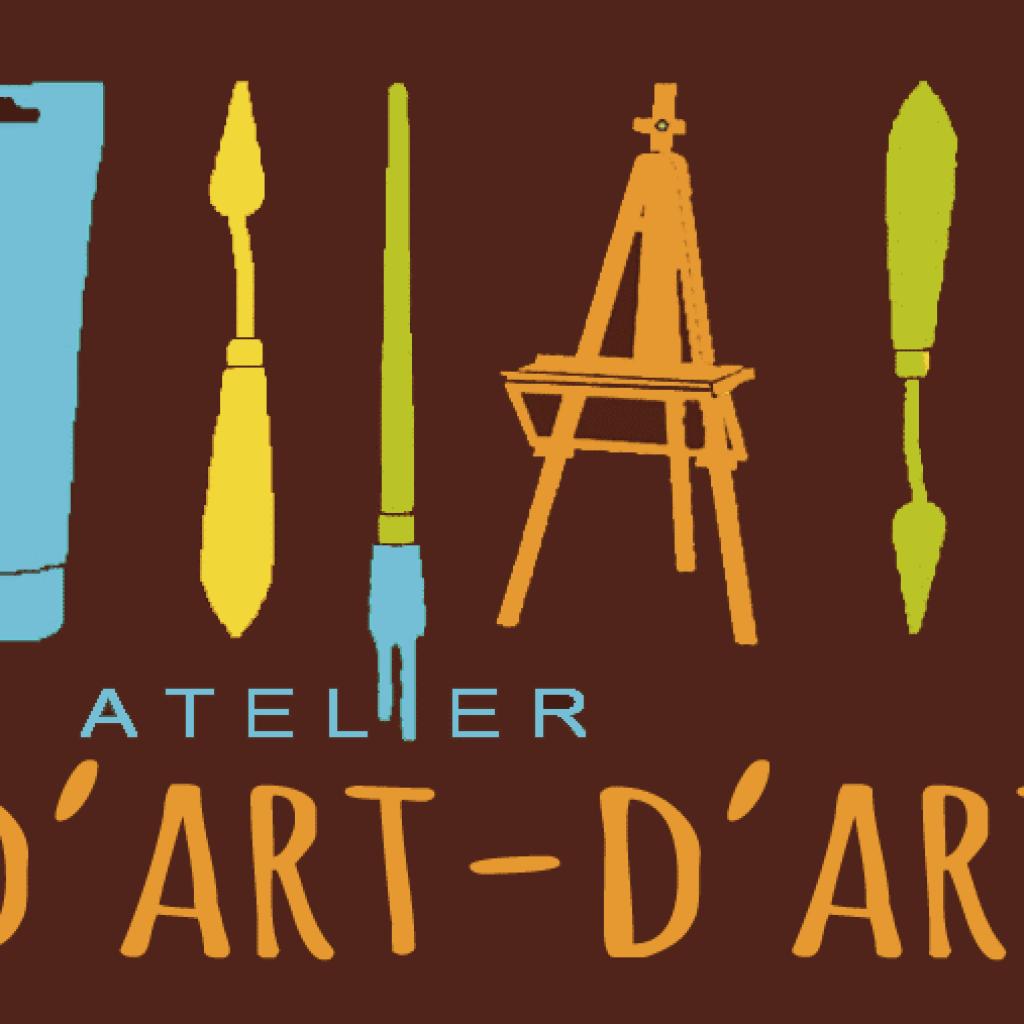 site atelier d'art d'art réalisé par Laetitia Luciani