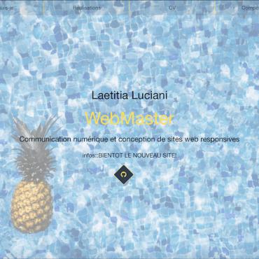Portfolio de Laetitia Luciani