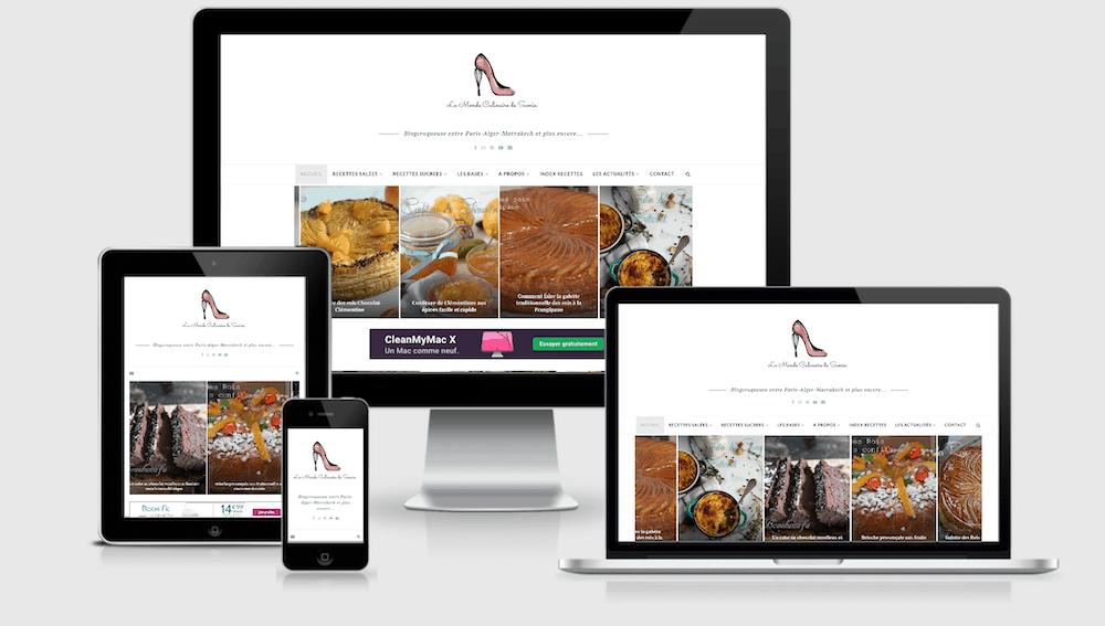 Le monde culinaire de Samia, blog culinaire optimisé par Uluweb