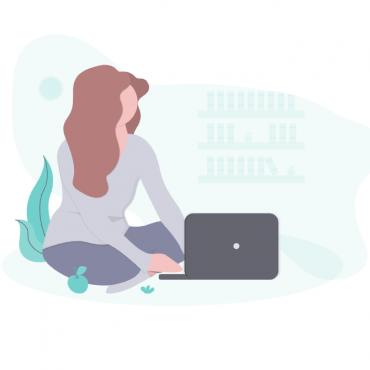 Refonte de webdesign pour la start-up IVES, cours en ligne à la création d'entreprise par Uluweb